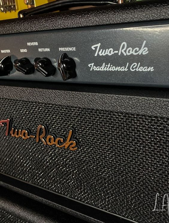 twor038 Two Rock Traditional Clean 50//100 Amp Head; Black Vinyl Cover Made USA